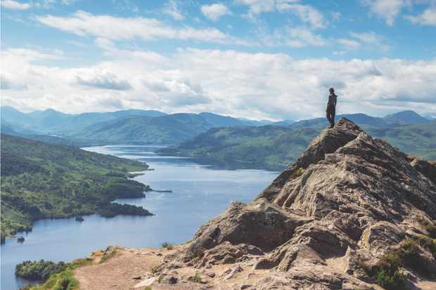 Ben A'an and Loch Katrine, Loch lomond and the Troassachs