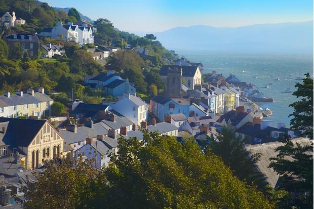 Gwynedd, Aberdyfi (Aberdovey) and Dyfi estuary