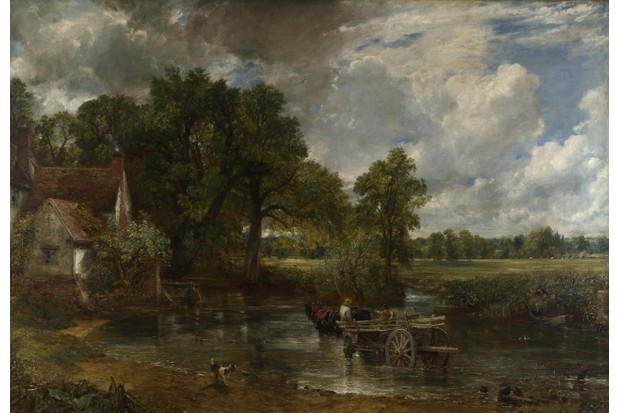 The Hay Wain, by John Constable