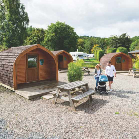 Loch Lomond Holiday Park, Scotland