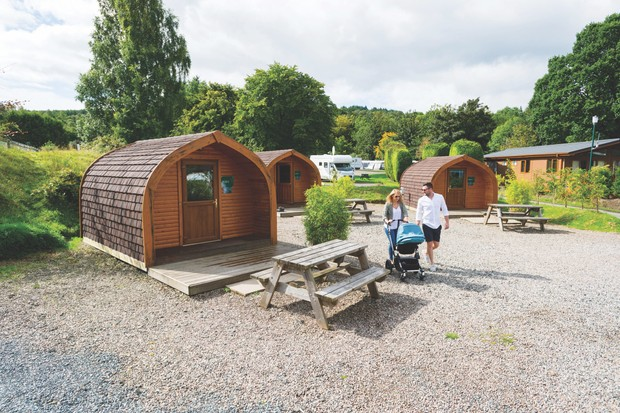 Loch Lomond Holiday Park, Scotland