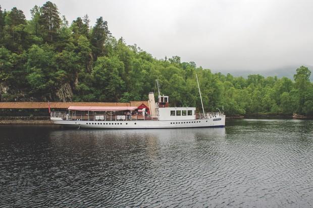 Sir Walter Scott boat on Loch Katrine