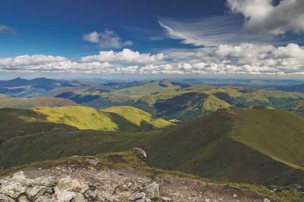 View from Stob Binnein, Scotland