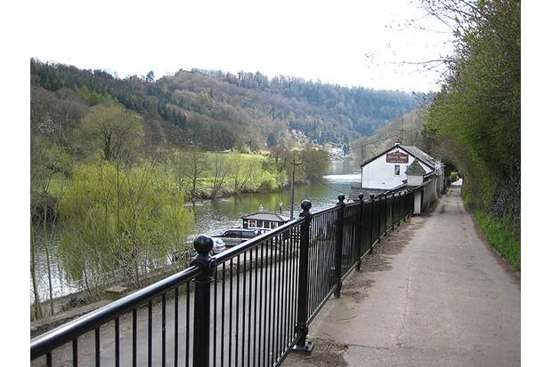 Pub on river