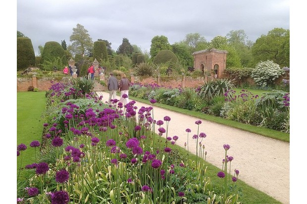 Garden at Packwood House