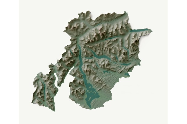 Loch Lomond and the Trossachs map