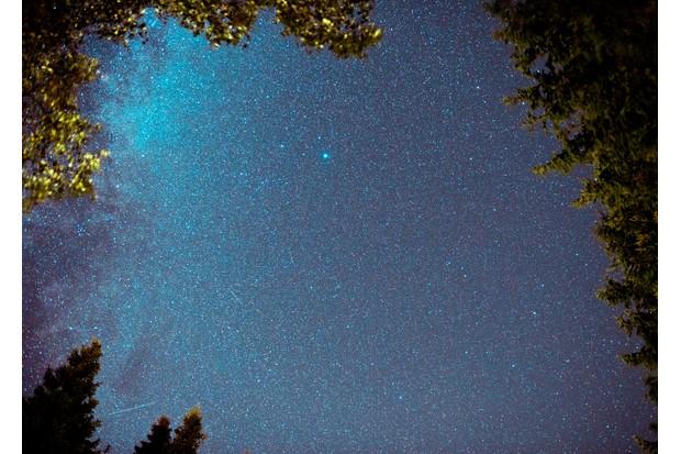 A starry night in Northumberland International Dark Sky Park