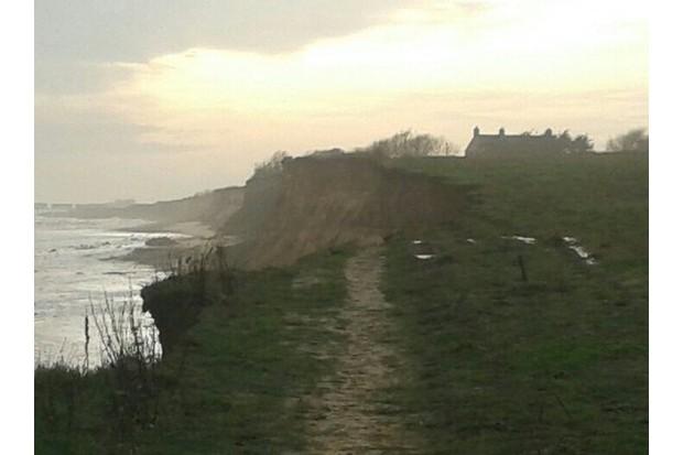 Juliet Blaxland easternmost house Ch x Future etc Easternmost House winter storm erosion