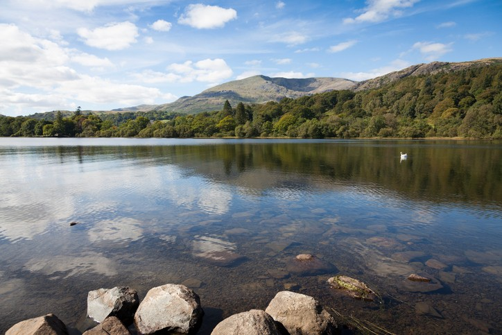Coniston Water in the Lake District