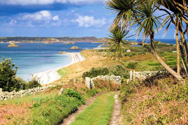 BNK574 St Martins; looking towards Tresco; Isles of Scilly