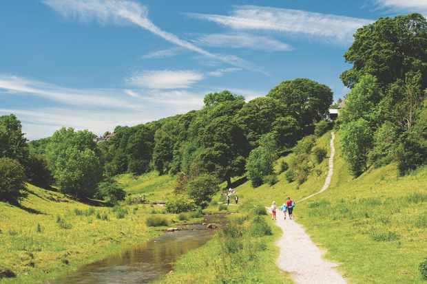 Bradford Dale, Derbyshire
