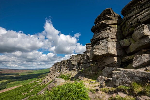 Stanage Edge, Peak District Nat. Park,Derbyshire
