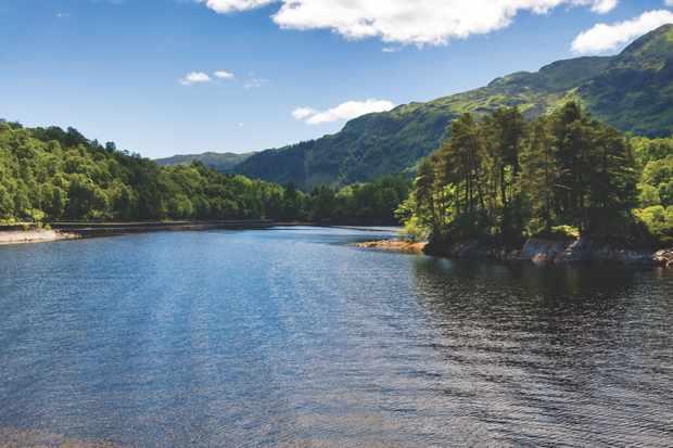 Loch Katrine, Loch Lomond and Trossachs National Park