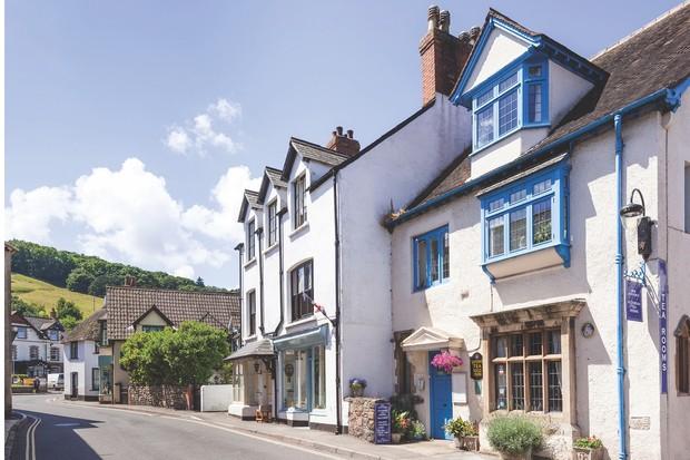 Mrs Jackson's Victorian Tearooms, Porlock, Exmoor