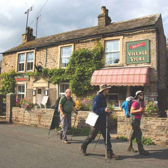 Muker Village Stores and Tea Room, North Yorkshire