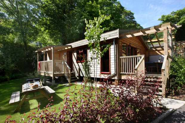 Rosehill Lodges, Cornwall