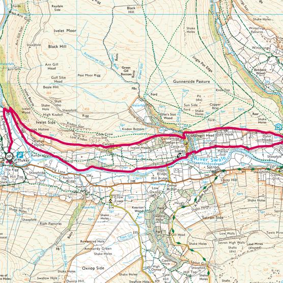Muker map