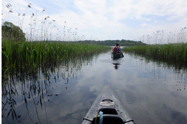Share Discovery Village canoeing, Upper Lough Erne, County Fermanagh