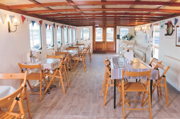 The Barge Tearooms, Maldon, Essex