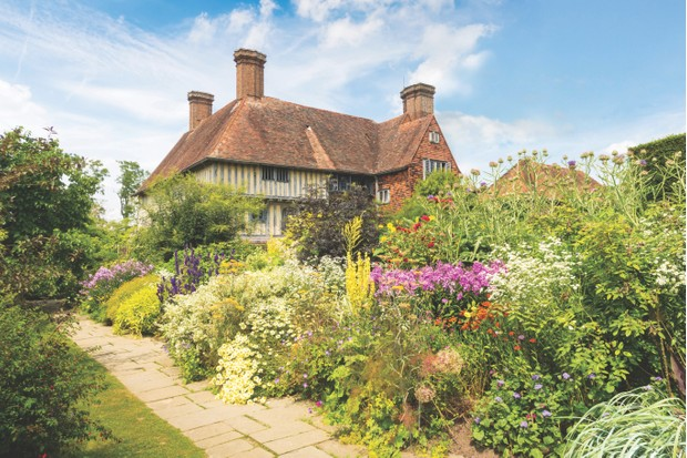 The Long Border at Great Dixter in East Sussex