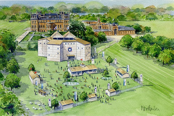 Win a pair of tickets to Romeo and Juliet at the Shakespeare Rose Theatre at Blenheim Palace, worth £176