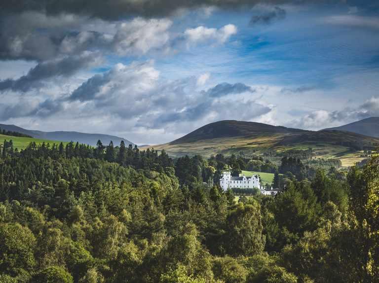 Blair Castle - Advertisement