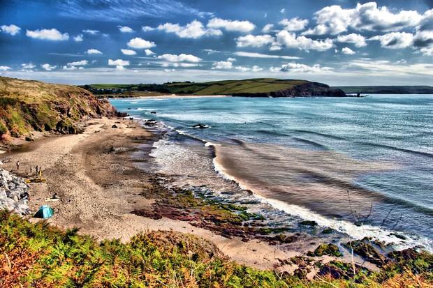 National Marine Week beach (Photo by: Steve Waterhouse via Wildlife Trust)