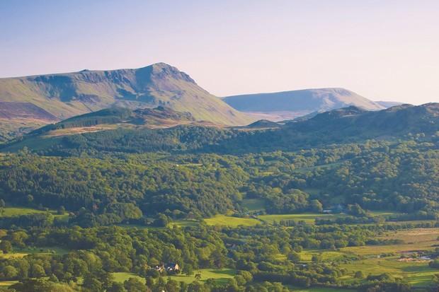 Cadair Idris from the Precipice Walk, Gwynedd