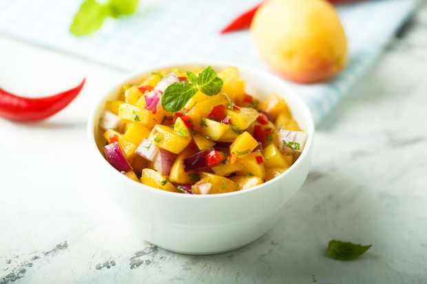 Matt Baker's Summer Cherry Salsa Recipe (Photo by: Mariha Kitchen via Getty Images)