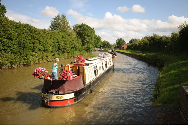 Stoke Bruerne and the Grand Union Canal