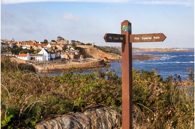 Crail in the East Neuk of Fife, Scotland