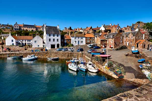 Crail village, Fife, Scotland