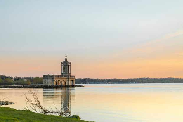 Normanton Church, Rutland Water, Rutland