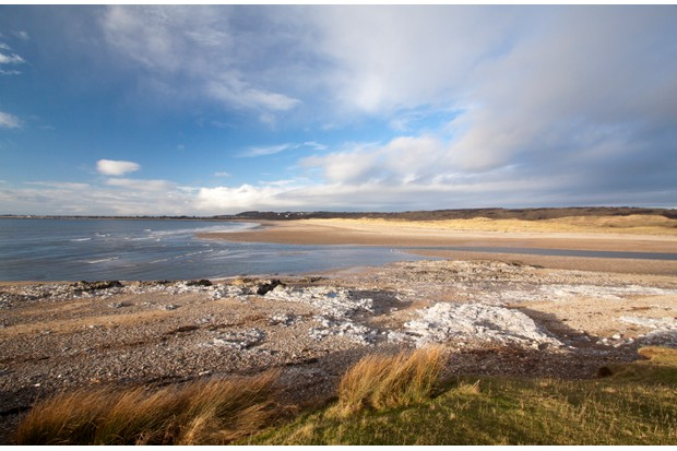 Ogmore-by-Sea in the Vale of Glamorgan, Wales