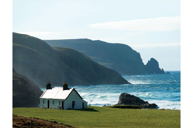 Kearvaig Bothy in Cape Wrath, Scotland