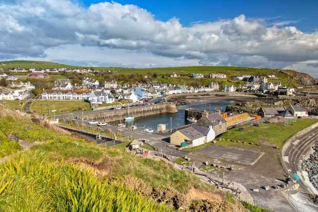 Portpatrick is a small Town on the Westcoast of Scotland and belongs to the Dumfries and Galloway Council Area. (Getty)