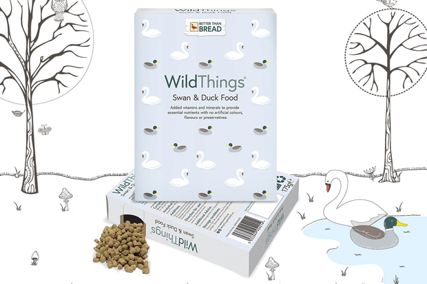 WildThings waterfowl feed product