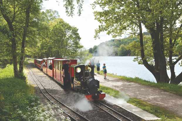 Rudyard Lake Steam Railway, near Leek, Staffordshire
