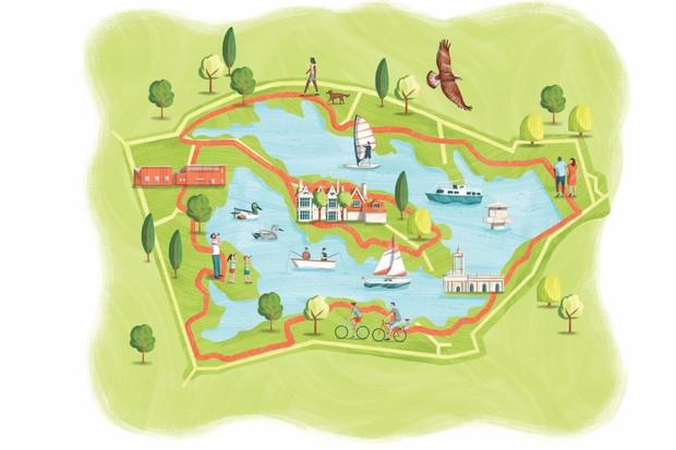 Rutland map ©Brittany Molineux