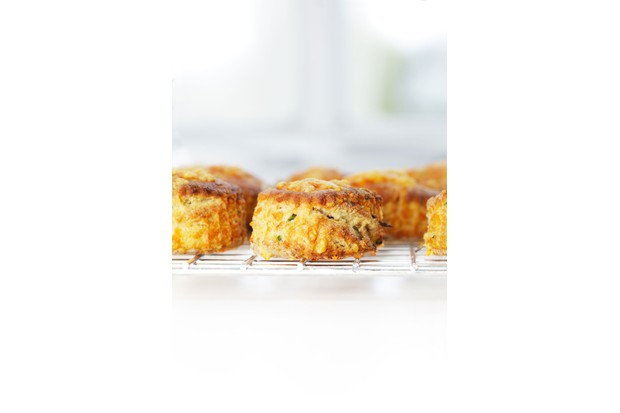 Savoury stilton scones