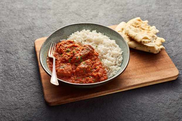 Welsh lamb curry
