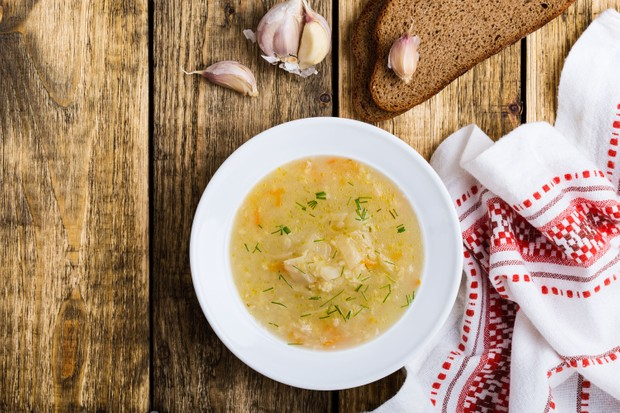 Chestnut, mushroom and savoy cabbage stew (Photo by: istetiana via Getty Images)