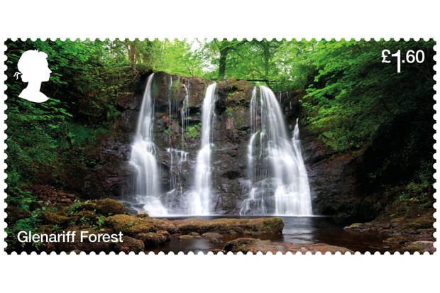 Glenariff Forest Stamp (Photo via Forestry Commission)