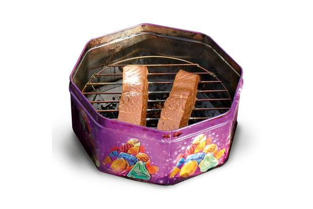 Meat and fish smoker
