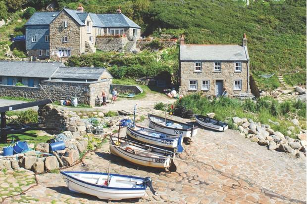 Penberth Cove, Cornwall, UK