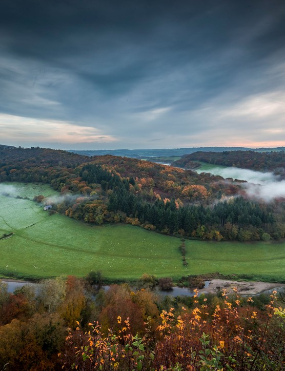 Wye Valley from Symonds Yat, Gloucestershire (Photo by: David Broadbent)