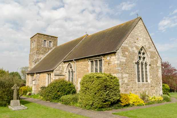 St Mary's church Walesby, Lincolnshire