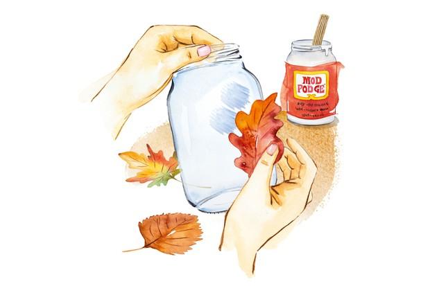 Autumn Crafts - Step 2