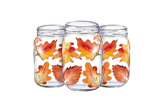 Autumn crafts - step 4