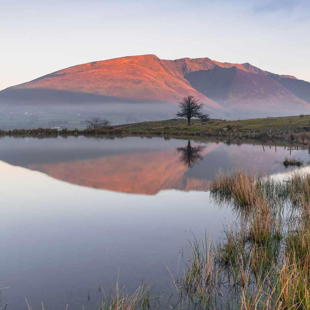 The Lake District's Blencathra mountain